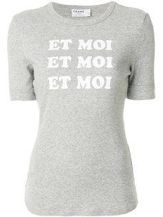 футболка Et Toi  Frame Denim