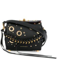 квадратная сумка 16 с люверсами Alexander McQueen