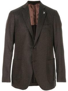 классический однобортный пиджак Tombolini