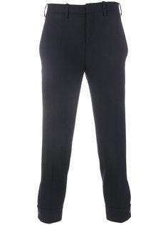 классические брюки  с подвернутыми манжетами Neil Barrett