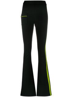 спортивные брюки клеш с полосками  Ssheena