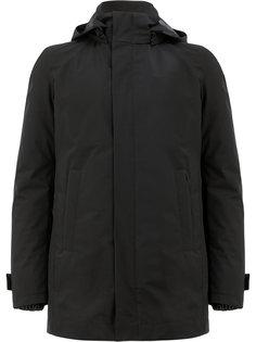 короткое пальто с капюшоном Herno