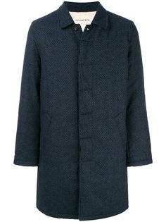 однобортное пальто Universal Works