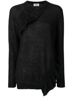 свитер с оборкой  Prada