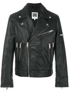 байкерская куртка Les Hommes Urban
