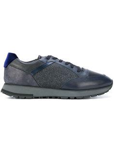 панельные кроссовки Santoni