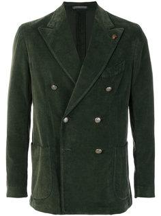бархатный пиджак Gabriele Pasini
