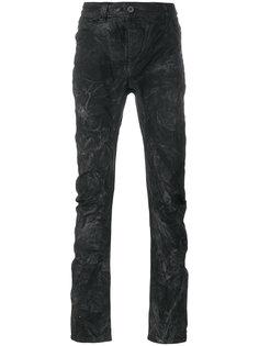 текстурированные джинсы скинни 11 By Boris Bidjan Saberi