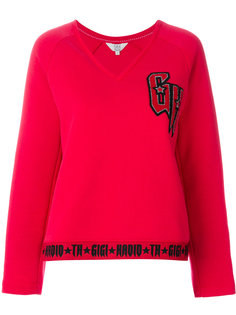 свитер с логотипом Tommy x Gigi Tommy Hilfiger