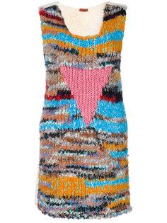 вязаное платье с рисунком Missoni