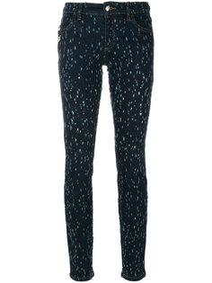 состаренные джинсы  Versus