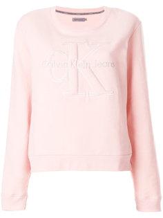 толстовка с логотипом Calvin Klein Jeans