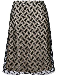 юбка миди с вышивкой  Bellerose