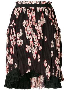 плиссированная юбка с цветочным принтом Isabel Marant