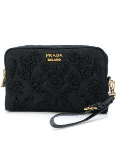 сумка с вышивкой Prada