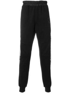 спортивные брюки с контрастными панелями Les Benjamins