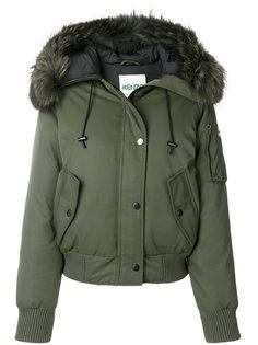 куртка-бомбер с капюшоном Kenzo