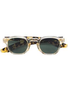солнцезащитные очки в толстой оправе Jacques Marie Mage