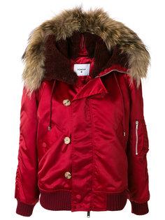 куртка бомбер с капюшоном Dondup
