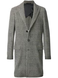 пальто в клетку Dondup