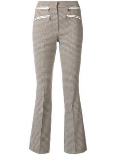 брюки в ломаную клетку Dondup