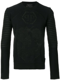свитер в рубчик Philipp Plein