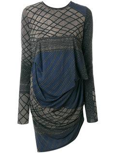 платье с принтом Uma Wang