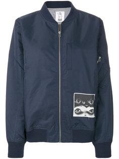 куртка-бомбер с принтом  Pam Perks And Mini