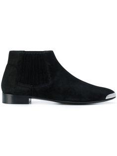 ботинки с контрастным носком Giuseppe Zanotti Design