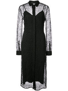 кружевное платье-рубашка  Jenni Kayne