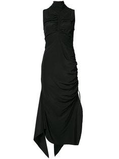 платье с присборенной отделкой Solace London