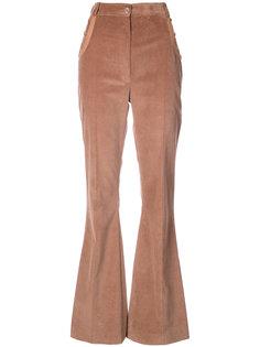 расклешенные брюки с завышенной талией Nina Ricci
