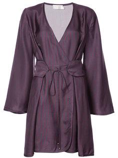 wrap front dress Zimmermann
