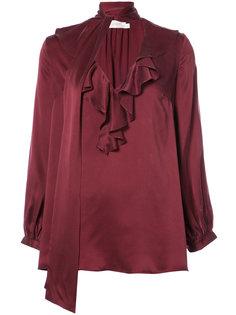 блузка с бантом на шее Zimmermann