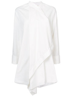 рубашка с драпировкой  Roksanda