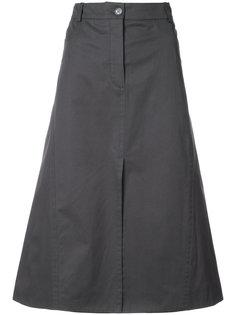 юбка А-силуэта кроя миди Nina Ricci