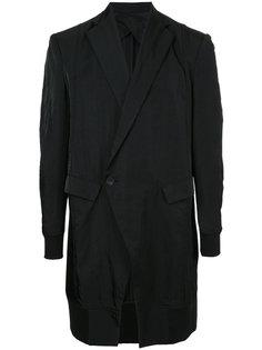 удлиненный классический пиджак Julius