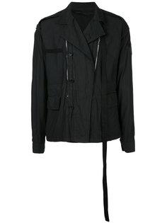 куртка с молниями Julius