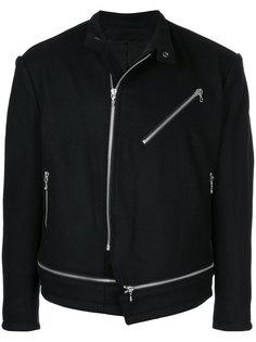 байкерская куртка на молнии Julius