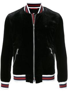 бархатная куртка-бомбер  Loveless