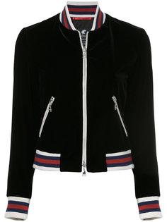 куртка-бомбер с полосками  Loveless