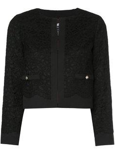 укороченный пиджак с кружевной отделкой  Loveless