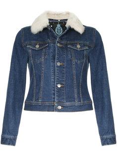 джинсовая куртка с воротником с отделкой из искусственного меха Guild Prime