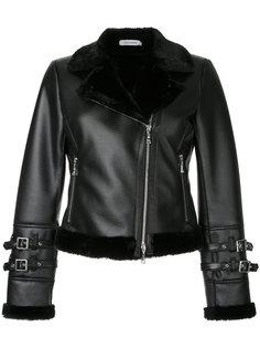 укороченная куртка с подкладкой из искусственного меха  Guild Prime