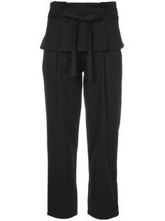 укороченные брюки с талией с многослойным эффектом  Guild Prime