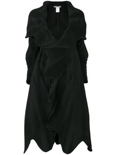 плиссированное пальто  Issey Miyake
