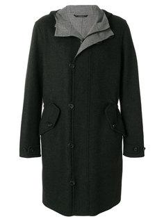 пальто с капюшоном Z Zegna