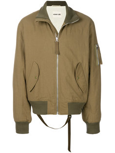 куртка-бомбер на молнии Helmut Lang