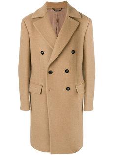 двубортное пальто Versace