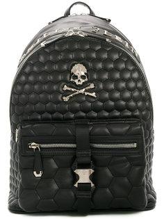 стеганый рюкзак с черепом Philipp Plein